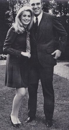 Catherine Deneuve and Michel Piccoli