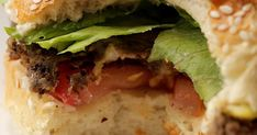 """We've been playing around with black bean burgers for a while & we're of the opinion that these are the best ones we've made so far. A few of our friends tucked into them with us & they were all really impressed at how """"meaty"""" the burgers were."""