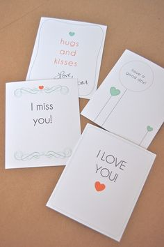 Free Printable: Lunch Box Love Notes on http://frogprincepaperie.com