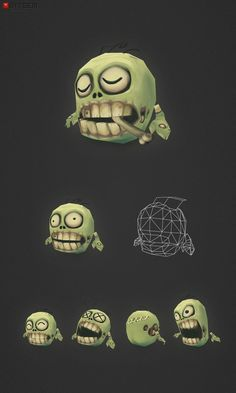 Low Poly Micro Zombie Brian