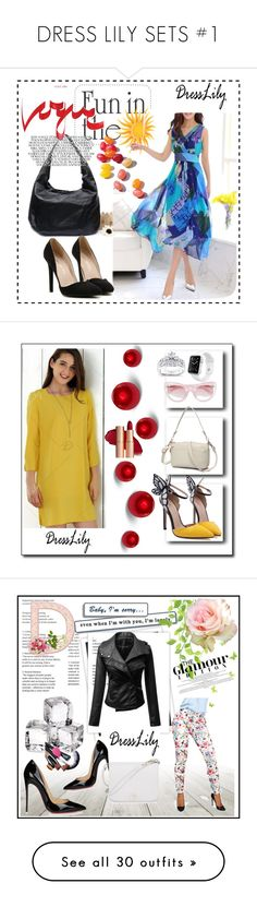 """DRESS LILY SETS #1"" by nizaba-haskic ❤ liked on Polyvore featuring Erdem, Apple, Kobelli, GALA, Christian Louboutin, Furla, INC International Concepts, Livingly, Cultura and Casetify"