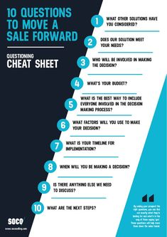 In sales there are a lot of factors that affect your prospects' decision-making process. The more you know, the more you can help. Make sure you're asking these questions when you meet with your next prospect. Sales Strategy, Digital Marketing Strategy, Marketing Tools, Digital Media Marketing, Marketing Software, Marketing Ideas, Affiliate Marketing, Internet Marketing, Business Management