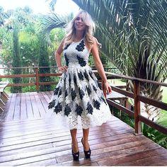 Vestido deeeeeuso Skazi  disponível na Queen 21! #mid #moda #muitoluxo #amazing #amo #skazi #sóvem #summer15 #vempraqueen #diva #dress #fashion #inlove #itgirl #new #queen21 #queen21loja