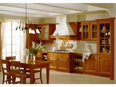Our RD Department designed a new style kitchen cabinet which is custom made as customers requirement Name:High quality wooden kitchen cabinet classic style Products details Features: Kitchen CabinetVC-KS-SO According to environmental protection sta Solid Wood Kitchen Cabinets, Solid Wood Kitchens, Kitchen Cabinet Styles, Kitchen Sets, Classic Style, Dining Table, Furniture, Birch, Design
