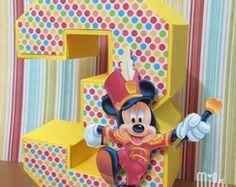 Letra 3D - Mickey Circo