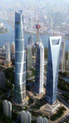 World-上海、中国-Shanghai - China