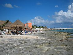 Costa Maya - Go here instead of Maya Riviera. The beaches are just as beautiful, the water just as clear but here are less tourists and less people trying to scam you.