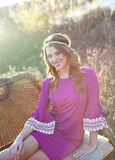 Wild for You Dress (purple)