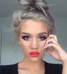 #Gray #HairStyle #HairColor
