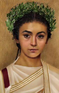 Reconstruction of Cleopatra Selene VII, daughter of Cleopatra & Mark Antony (40 - 6 BC)
