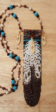 Eagle Feather Beaded Amulet Bag