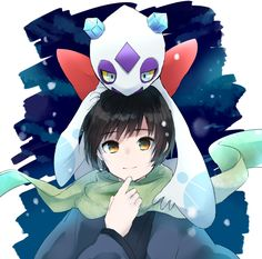 Japan and Froslass - Pokemon crossover