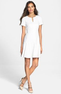 Rebecca Taylor Textured Dress available at #Nordstrom