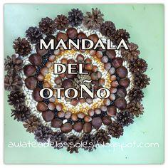 MANDALA DEL OTOÑO Nature Crafts, Fall Crafts, Diy And Crafts, Crafts For Kids, Arts And Crafts, Autumn Art, Autumn Theme, Land Art, Reggio