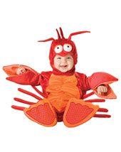 Infant & Toddler Animal Costumes - Lil Lobster Infant Toddler Costume