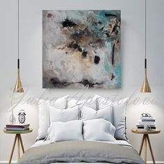 Watercolor Abstract Painting, Contemporary Art Print, Huge Wall Art, Gold and Black Decor, Large Painting & Milky Way & by Julia Apostolova - Art print on canvas Original watercolor abstract landscape series with gold leaf Painting by Julia - Watercolor Paintings Abstract, Abstract Canvas, Leaf Paintings, Canvas Art, Gold Watercolor, Large Canvas, Abstract Print, Landscape Paintings, Large Painting