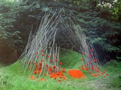 Originating in the 1960s, Land art, Earth art or Earthworks is an art movement in which the art itself and the landscape it is presented in are visibly linked. It is created in nature using natural...