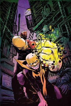 Luke Cage & Iron Fist - Sanford Greene