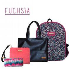 Fuchsia es variedad    #designersvzla #designersvenezuela #diseñovenezolano #venezuela #merida #cartera #bolso #bag  #backpack #morral #fuchsia #tiendafuchsia #fuchsialovers #fuchsiabags #closetcriollo #closetvenezolano #talentovenezolano #criollo #emprendimiento #regalos #gifts #presents #gold #shine