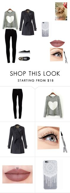"""""""Unconditionally - Cap. 20"""" by thaliasalvatore ❤ liked on Polyvore featuring J Brand, Burberry, Luminess Air and Vans"""