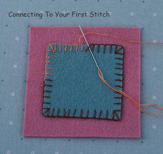 How To Appliqué Wool Felt - Blanket Stitch - Beginner Lesson 2 — Oliver Rabbit