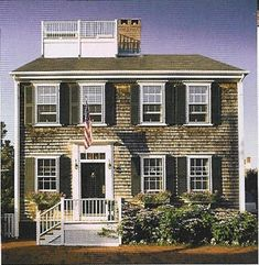 Nantucket Whaling Captains House- one of the reasons I love Nantucket is the wonderful architecture.