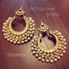Kundan jewelry is always my favorite .. similar to the earrings that Deep's is wearing in lahun mungh lag gaya song from Ram Leela movie !!