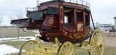 Eastern style coach  - custom built by Hansen Wheel & Wagon Shop