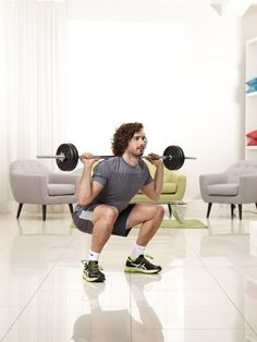 Body coach Joe Wicks shares his HIIT leg workout and how to serve up quick and tasty meals Hiit Leg Workout, Hiit Workouts For Men, Treadmill Workouts, Strength Workout, Butt Workouts, Cardio, Joe Wicks The Body Coach, What Is Hiit, Barbell Squat