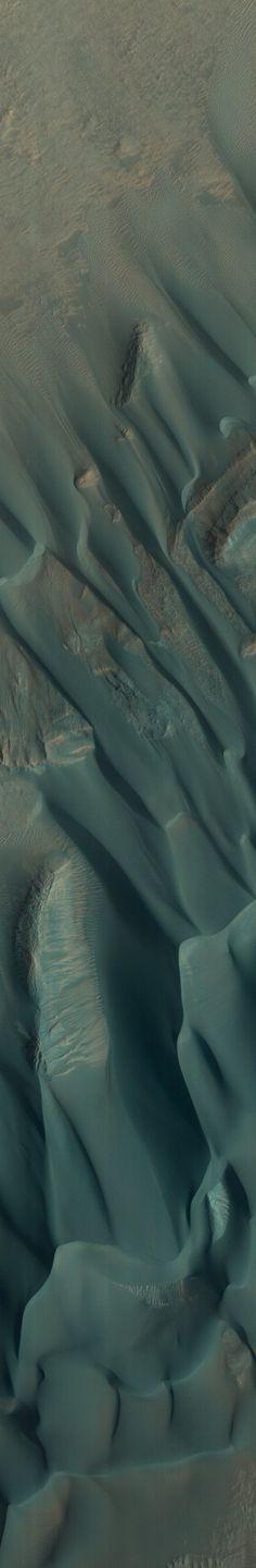 Just some dunes...on MARS. Western Nereidum Montes
