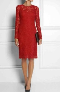 Red lace - D&G