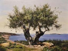 Painting - Olive Tree by Elidon Hoxha