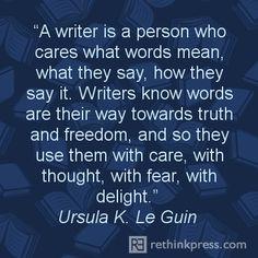 Writers Ursula LeGuin