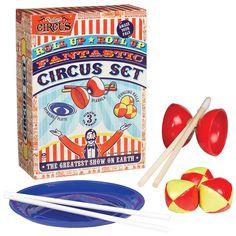 Ridley's Circus Set design by Wild & Wolf