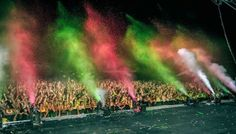 Life in Color/ Dayglow Paint Party at Sunfest May 4th, 2013