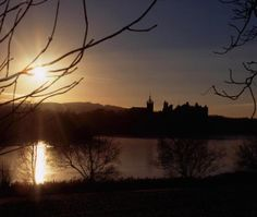 Sunset over Linlithgow Palace #Scotland #history