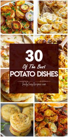 30 Best Potato Recipes – My Recipes and Meal Plans Vegetable Side Dishes, Vegetable Recipes, Vegetarian Recipes, Cooking Recipes, Healthy Recipes, Best Potato Recipes, Side Dish Recipes, Favorite Recipes, Tasty Dishes