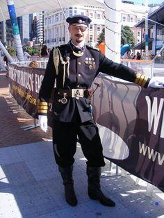 Steampunk Captain Nemo, #weaponsofbrassdestruction, Hanley Soloway Sutlers, facebook.com/hanleysoloway