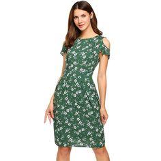 f25ae53a7503 Dresses. Women s Cold Shoulder ...