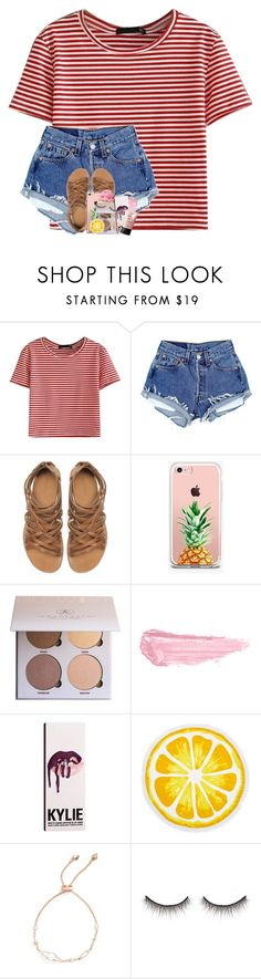 """follow my group account with my bff!"" by theblonde07 ❤ liked on Polyvore featuring WithChic, Zara, The Casery, Anastasia Beverly Hills, By Terry, Kylie Cosmetics, Nordstrom Rack, Kendra Scott, shu uemura and NARS Cosmetics"