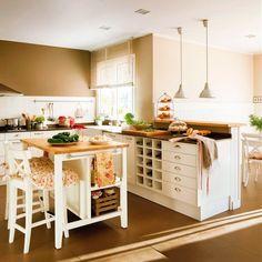Cocina y baño: la organización más funcional
