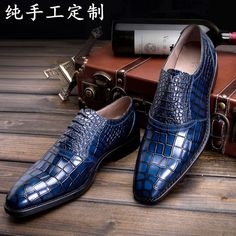 LUOANDA Goodyear handmade Italian leather shoes handmade men's ...