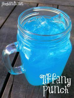 1 part blue berry typhoon hawaiian punch 1part prepared lemonade