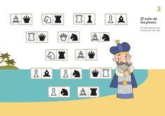Siempre es buen momento para jugar una partida de ajedrez.¡Empiezan blancas! ♙♜♕  #ajedrez #educación #ajedrezenelaula