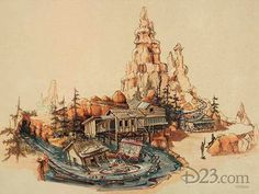 Big Thunder Mountain's 33rd Anniversary in 2013