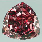 Moussaieff Red Diamond.  This Diamond was reportedly found by a Brazilian farmer in the mid-1990's as a rough stone of about 11 carats. The diamond was purchased and cut by the William Goldberg Diamond Corp., where it went by its original name, the Red Shield. It is currently owned by Moussaieff Jewellers Ltd., the purchase price was rumoured to be approximately $8 million.