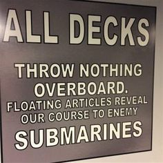 World War II warning