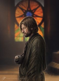 The Return on Behance Digital painting of the Kingslayer, Jaime Lannister. by Tara Phillips