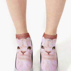 kitten car socks.shoes