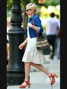 perfect spring outfit (Michelle Williams)